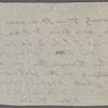 [O'Connor], Ellen, postscript to ALS of [Feb. 11, 1874 ]. Previously (fragment) AL [n.d.].
