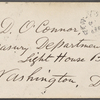 O'Connor, William D., ALS to. Oct. 10, [1870]. Previously: Oct. 10, [1864?].