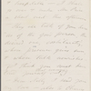 O'Connor, William D., ALS to. May 5, [1867].