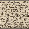 Rhys, Ernest, APCS to. Feb. 3, 1887.