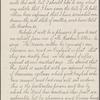 Bathgate, W. J. Copy in an unknown hand of a letter to Walt Whitman. Jan. 31, 1880