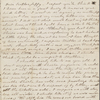[Heyde], Han[nah Louisa Whitman], ALS to [Thomas] Jeff[erson Whitman], brother. Thursday afternoon [n.d.]
