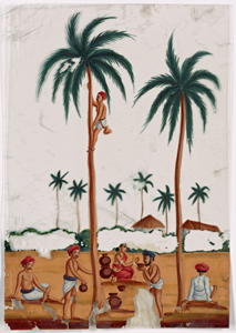 "Indian coloured drawings: a collection of 177 original paintings on ""talc,"" etc., with 17 engravings, illustrating costume, vehicles and trades in India"