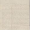 Hawthorne, Elizabeth Clarke Manning, AL, signed and written as if from Una. Mar. 22, 1844.