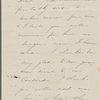Hawthorne, Elizabeth M., AL, signed and written as if from Una. Apr. 1844.
