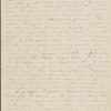 [Mann], Mary [Tyler Peabody], ALS (incomplete) to. Nov. 19, 1827.