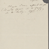 [Mann], Mary [Tyler Peabody], ALS to. [Nov.] 15, [1832]