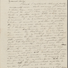 [Mann], Mary [Tyler Peabody], ALS to. Mar. 5, [1833].