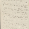 [Mann], Mary [Tyler Peabody], AL (incomplete) to. Feb. 27, [1836].