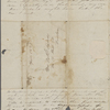 Peabody, [Elizabeth Palmer], mother, ALS to. Apr. 20, 1843.