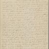 Peabody, E[lizabeth] P[almer], sister, ALS to. Nov. 5, 1824.