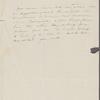 Peabody, E[lizabeth] P[almer, sister], ALS to. Mar. 1, [1833].