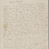 Peabody, E[lizabeth] P[almer, sister], ALS to. Jul. 22, [1835]