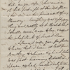 "[Merrick], Harriet, cousin, letter to. May 28, 1826. Copy in the hand of [?]Rose Hawthorne Lathrop. Previously ""Cousin Harriet""."
