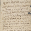 Palmer, Mary Cranch, ALS to Mary Smith Cranch. Feb. 12, 1775.