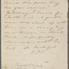 Hawthorne, Elizabeth M, ALS to. Jul. 25, [1838?].