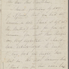Bridge, C[harlotte] M[arshall], ALS, to SAPH. Jul. 1, [1846?]