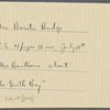 Bridge, C[harlotte] M[arshall], ALS, to SAPH. Jul. 1, [1846?]