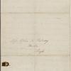 Hawthorne, E[lizabeth] M[anning], ALS to SAPH. Jun. 15, 1842.