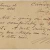Doyle, Peter, APCS to. Jan. 22, [1876].