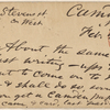 Doyle, Peter, APCS to. Feb. 5, [1875].