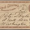 Doyle, Peter, APCS to. Feb. 19, [1875].