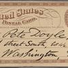 Doyle, Peter, APCS to. Apr. 23, [1875].