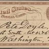 Doyle, Peter, APCS to. May 7, [1875].