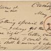 Doyle, Peter, APCS to. May 14, [1875].