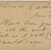 Doyle, Peter, APCS to. Jun. 26, [1874].