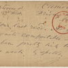 Doyle, Peter, APCS to. Jul. 17, [1874].
