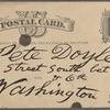 Doyle, Peter, APCS to. Sep. 1, [1878].