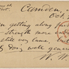 Doyle, Peter, APCS to. Oct. 21, [1873].