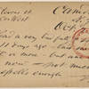 Doyle, Peter, APCS to. Oct. 23, [1874/75].