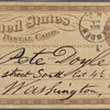 Doyle, Peter, APCS to. Dec. 16, [1874/75].