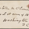 O'Connor, Ellen M., ALS to. Dec. 4, 1864.