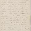 O'Connor, Ellen M., ALS to. Oct. 12, 1865.