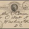 O'Connor, Ellen M., APCS to. Jan. 1, 1889.