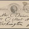 O'Connor, Ellen M., APCS to. Feb. 12, 1889.