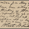 O'Connor, Ellen M., APCS to. May 9, 1889.