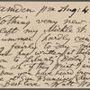 O'Connor, Ellen M., APCS to. Aug. 4, 1889.