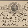 O'Connor, Ellen M., APCS to. Sep. 19, 1889.