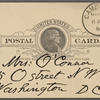 O'Connor, Ellen M., APCS to. May 9, 1890.