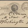 O'Connor, Ellen M., APCS to. Jan. 4, 1891.