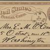 O'Connor, Ellen M., APCS to. Jan. 7, [1875].