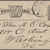 O'Connor, Ellen M., APCS to. Nov. 23, [1876].