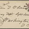 O'Connor, William D., ALS to. Jul. 24, 1864.