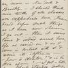 O'Connor, William D., ALS to. Sep. 11, 1864.