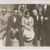 "Gwendolyn Bennett with a group of friends: Charley Boyd, Hoggie Payne, Jayfus Ward, ""The Fat One"" Hoffman and ""Bon Bon"" Simmons"