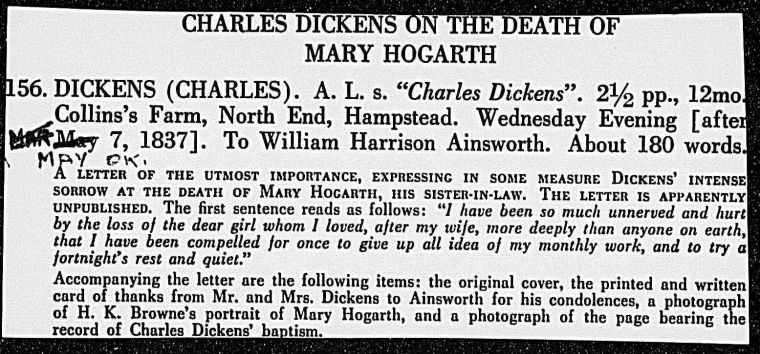 Fascinating Historical Picture of Charles Dickens on 5/17/1837
